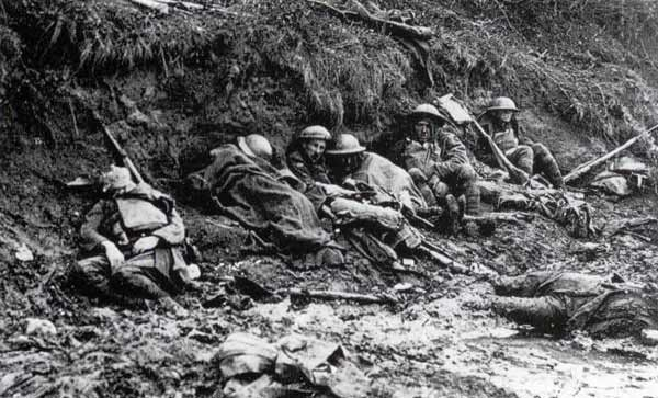 WW1 Trench Casualties